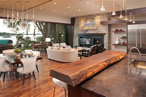 Modern Bar Tops by Wood Bar Tops Living Room With 20 Foot Floor To Ceiling Sliding Beeyoutifullife
