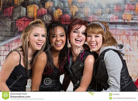 Group Teen Girls Laughing | group of cute teens laughing stock images image 32439284