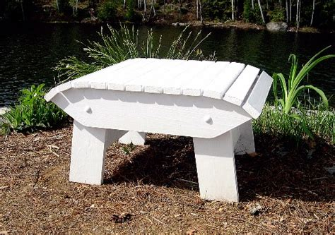 Adirondack Stool Plans by Adirondack Or Muskoka Chair Footstool The Barley Harvest Woodworking Plans