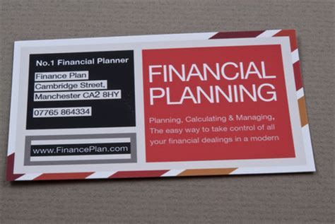 financial planning business cards templates striped financial planner business card template inkd