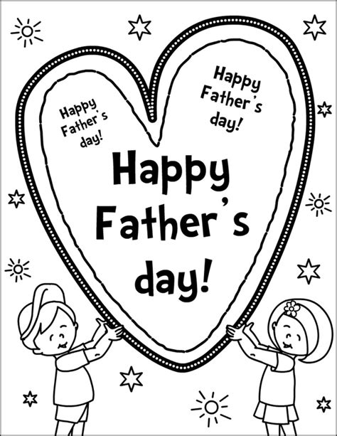 Coloring Page Fathers Day by Free Printable Happy Fathers Day Coloring Pages