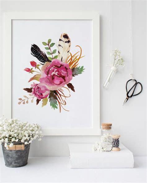 Wandtattoo Kinderzimmer Rot by Best 25 Floral Wall Ideas On Flower Wall