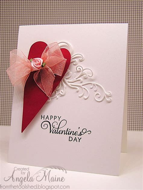 simple valentines day cards easy peasy cards hearts