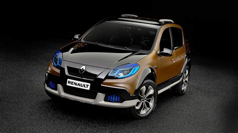 renault sandero black renault sandero stepway concept features photos