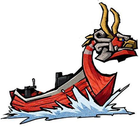 wind waker boat the zelda realm wind waker king of red lions