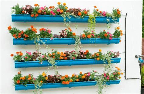 Pot Bunga Susun 4 Vertical Gantung veja 11 ideias criativas de jardins baratos e simples para