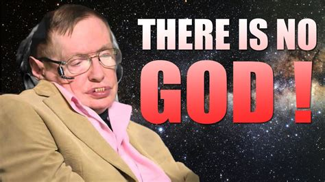 is that really you god book report stephen hawking there is no god amazing documentary