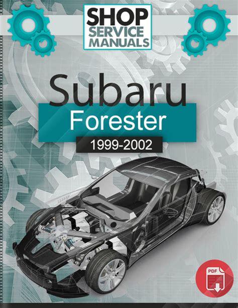 download car manuals 2001 subaru forester security system subaru forester 1999 2002 service repair manual download download