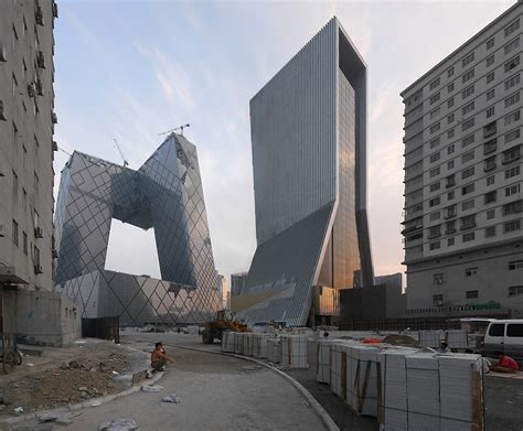 Marvela Interiors don t look down architecture cctv headquarters