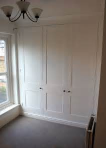 fitted painted wardrobes wandsworth the bookcase co