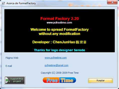 descargar format factory portable en mega formatfactory v2 20 multilenguaje espa 241 ol conversor de