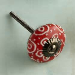 ceramic kitchen cabinet knobs raised embellishment 21 cheerful ceramic cabinet knobs this old house