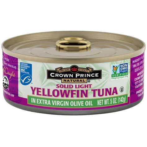 what is light tuna crown prince natural yellowfin tuna solid light in