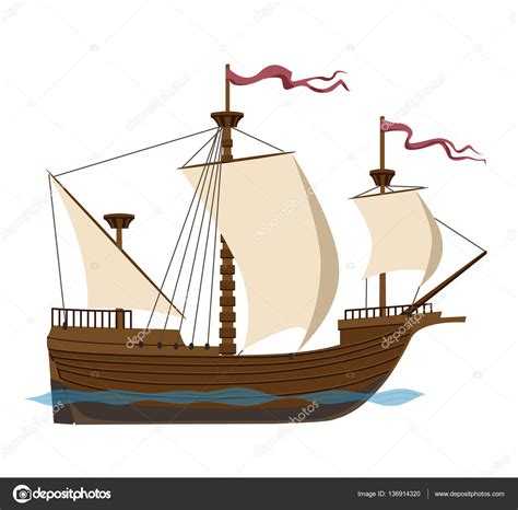 big boat sailing sailing clipart big boat pencil and in color sailing