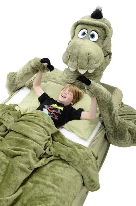 dinosaur bed giant spider man bed cover bonus hello kitty dino geekologie