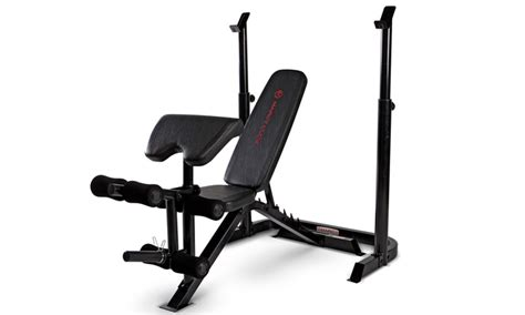 marcy workout bench marcy club deluxe workout bench groupon goods