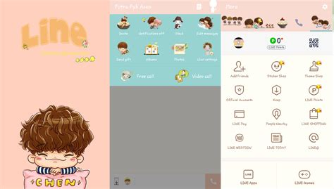 link theme line exo android kumpulan tema theme line k pop di android artikel