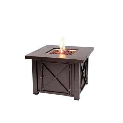home depot pit table sense 38 in x design propane gas pit 61108