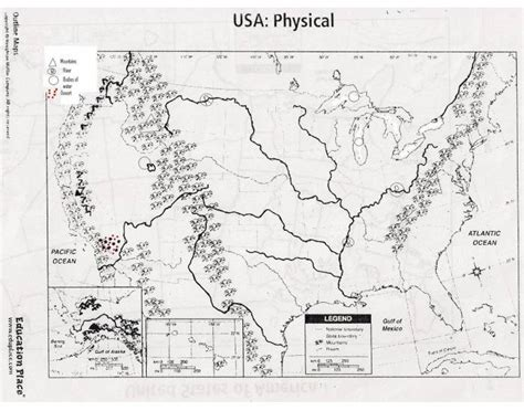 blank outline maps education place cshs anglo america physical map us