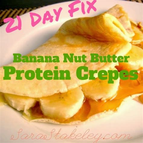 8 Fix Breakfasts For by 21 Day Fix Breakfast Stuffed Protein Crepes 21 Day Fix
