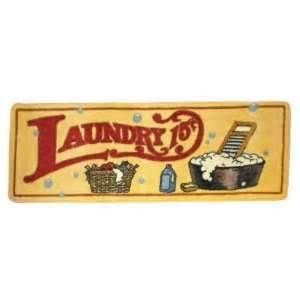 country laundry room runner area rug mat new