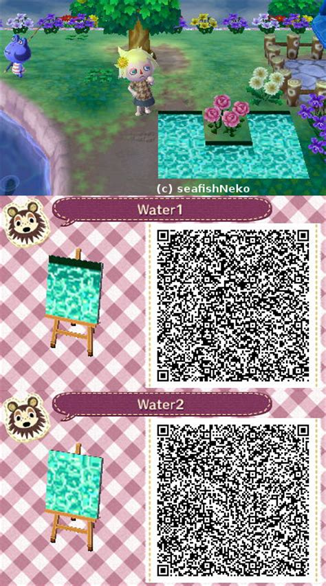 animal crossing pattern qr maker the gallery for gt animal crossing qr codes paths grass