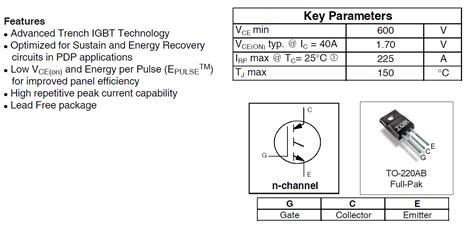 transistor rjp30e2 datasheet transistor rjp30e2 datasheet 28 images rjp63f3 silicon n channel igbt high speed switching