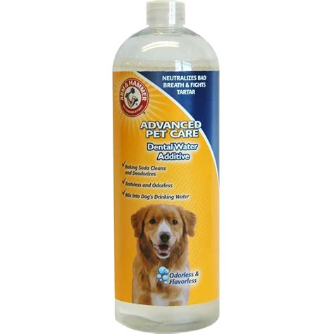 water additive for dogs arm hammer dental water additives for dogs 27 fl oz