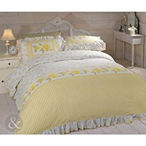 amazon com just contempo double duvet cover shabby