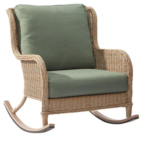 Patio Furniture Rocking Chair Rocking Chairs Patio Chairs Patio Furniture The Home Depot
