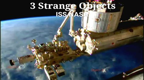 iss live ufo sightings iss nasa 3 objects to space station