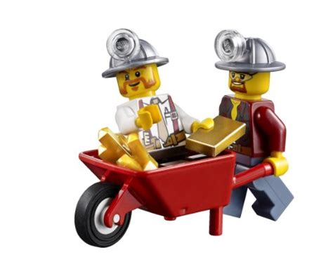 Original Lego Minifigure City Series Gardener With Lawn Mower lego city 4204 the mine discontinued by manufacturer import it all