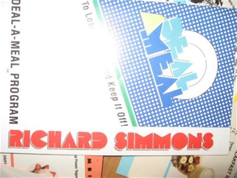 Weight Of A Gift Card - richard simmons deal a meal cards wallet diet weight ebay