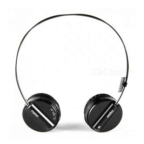 Headset Bluetooth Rapoo rapoo h6020 wireless bluetooth v2 1 stereo headset headphone with microphone black