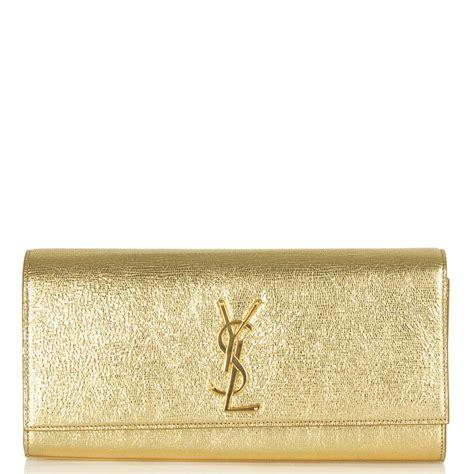 Gold Silver Clutch ysl silver clutch bag