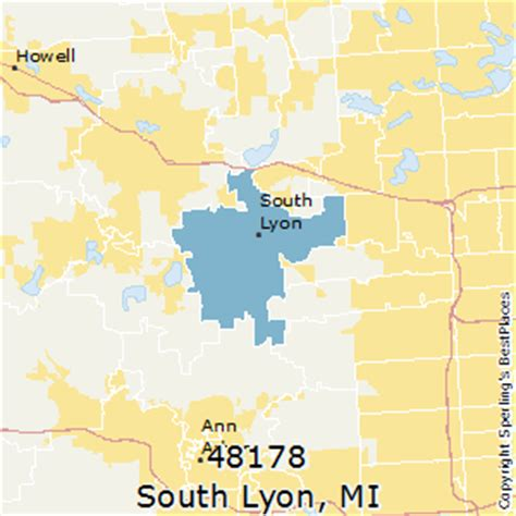 houses for sale in south lyon mi best places to live in south lyon zip 48178 michigan
