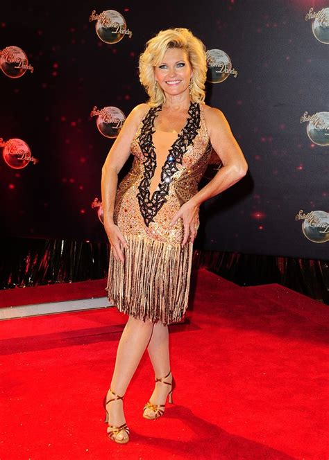 most recent photo of fiona fullertonpictures of penelope with hair fiona fullerton strictly come dancing 2013 photocall