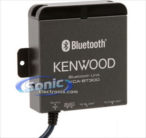 Kenwood Kca Bt300 kenwood kca bt300 bluetooth adapter for select kenwood car