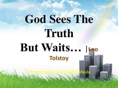 themes in god sees the truth but waits god sees the truth