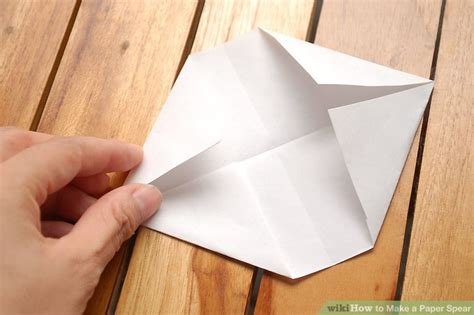 How To Make A Paper Spear - how to make a paper spear with pictures wikihow