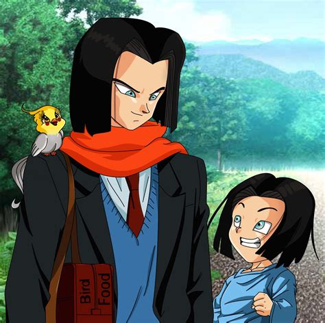 Will Android 17 Come Back by Android 17 And By Saiyangoddess On Deviantart
