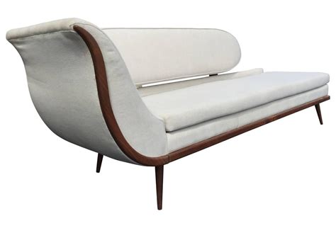 modern sofa montreal exquisite mid century modern sofa settee by cimon of