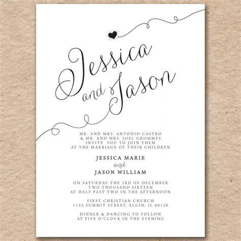 pearlized wedding invitations wedding invitations modern printed on pearlized