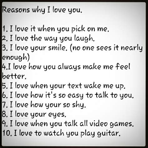 100 reasons why i love you from the dating divas 10 reasons why i love you true pinterest gift 52