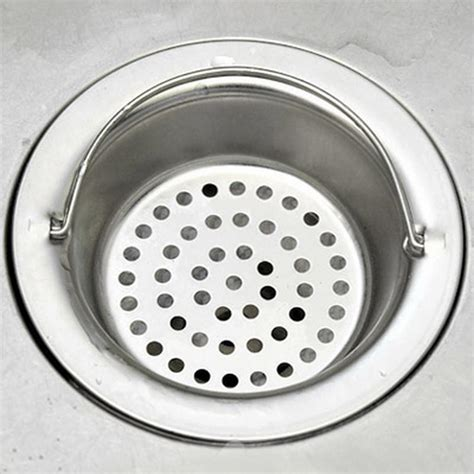 Floor Drain Sargot Saringan Air 810 Ss kitchen sewer filter portable stainless steel kitchen sink strainer floor leveler drainage