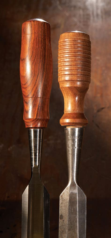 turning wood socket chisel handles popular woodworking