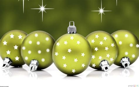 green christmas tree balls wallpaper 20518 open walls