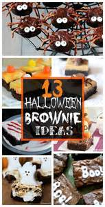 Creative Idea For Home Decoration Fun And Spooky Halloween Brownies Crafty Morning