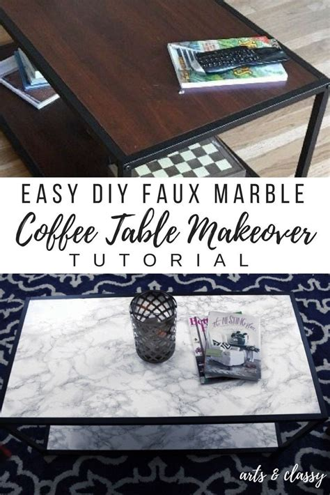 Diy Marble Coffee Table 25 Best Ideas About Faux Marble Coffee Table On Pinterest Ikea Furniture Hacks Office Table
