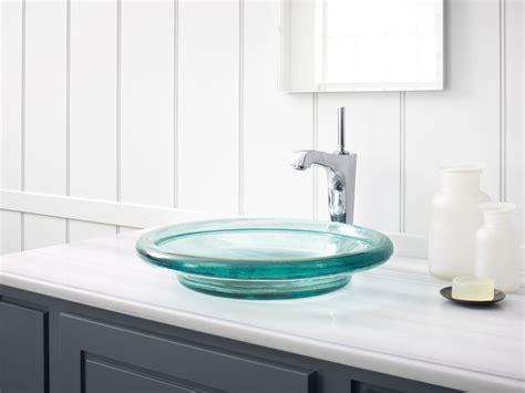 kohler spun glass vessel standard plumbing supply product kohler k 2276 b11